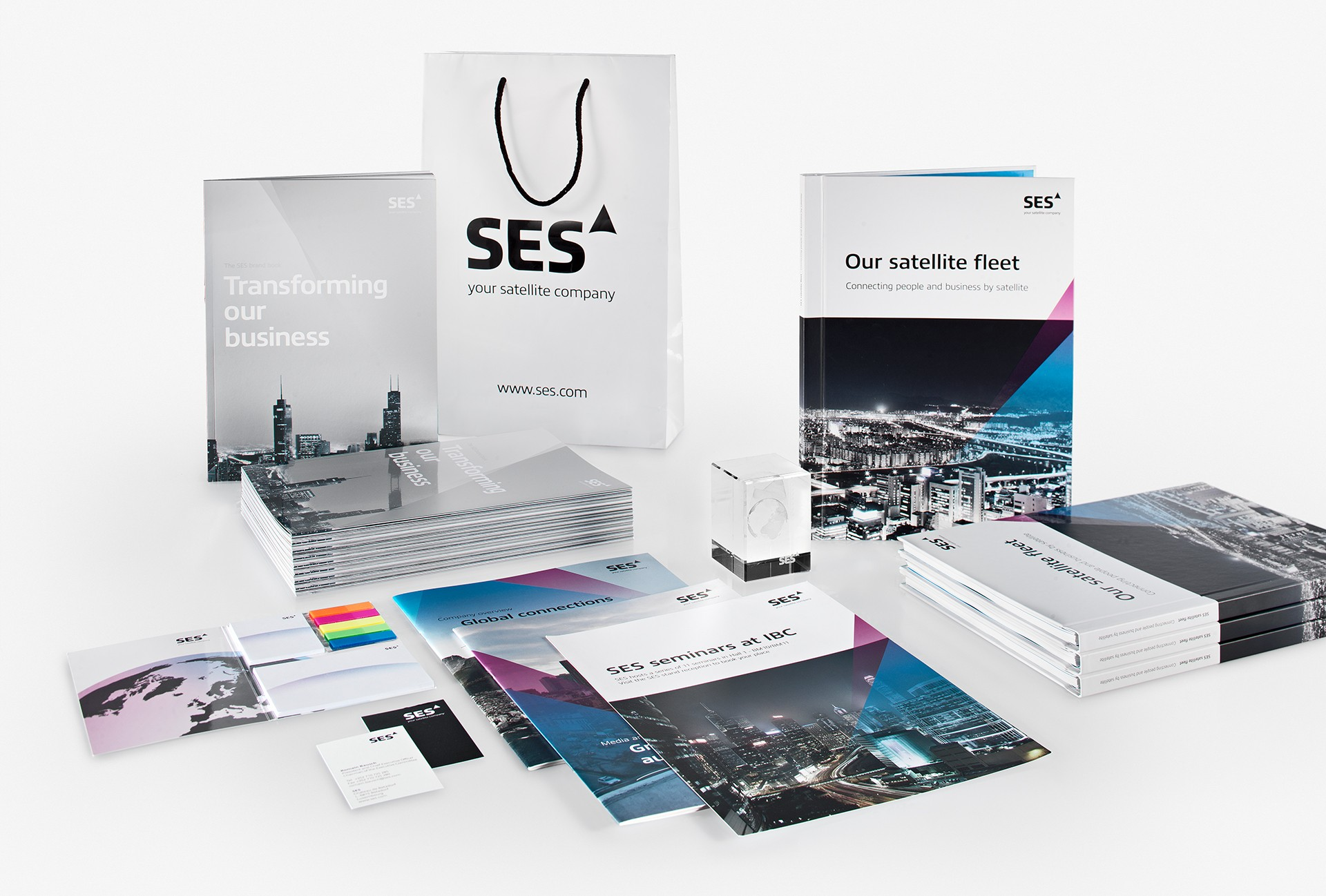 marcela grupp | art & design direction SES – Satellite company