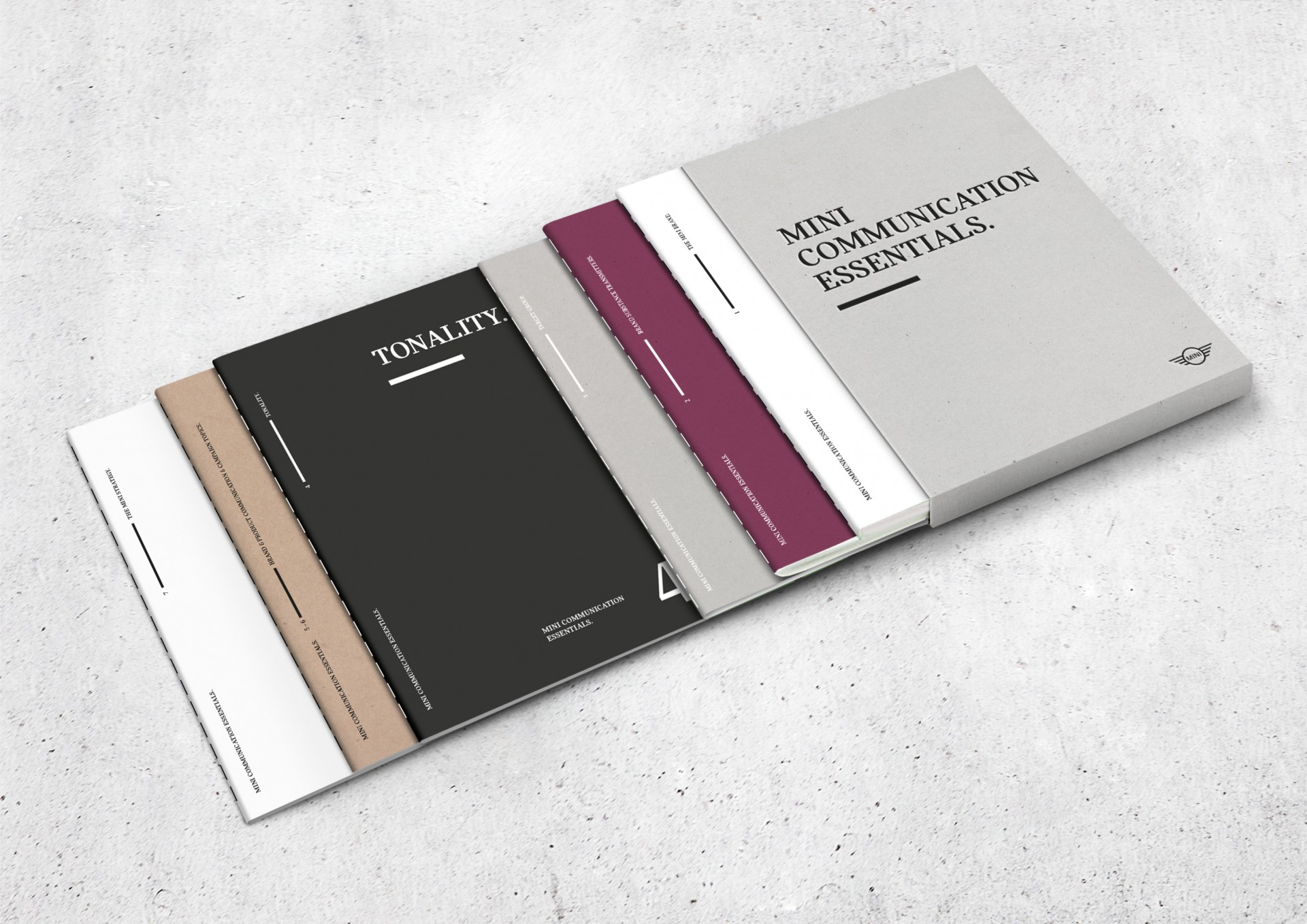 marcela grupp | design & creative direction MINI Communication Essentials