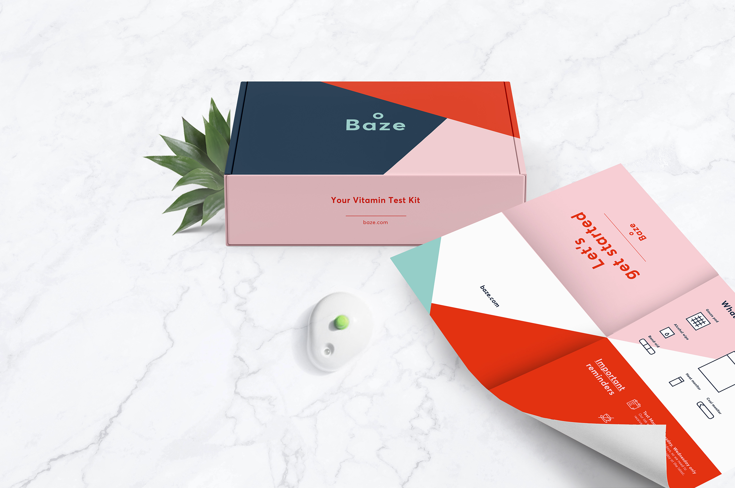 marcela grupp | art & design direction Baze – Personalized nutrients